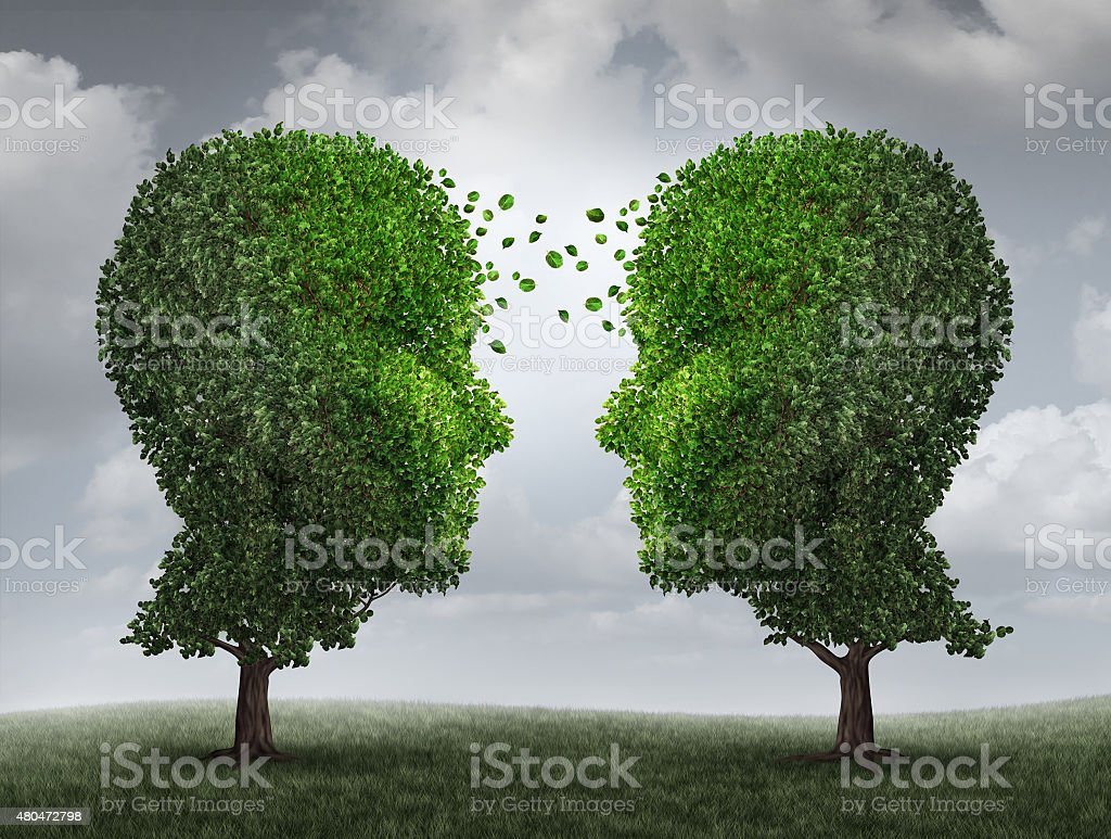 Communication And Growth stock photo