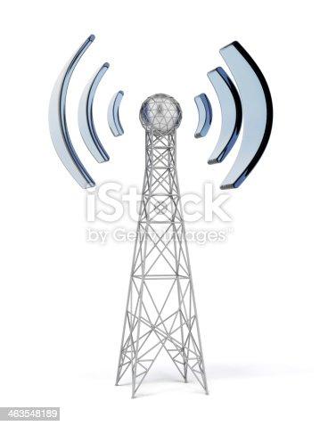 istock Communication antenna 463548189