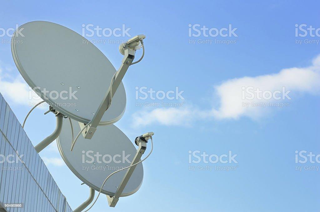 Communication Antenna royalty-free stock photo