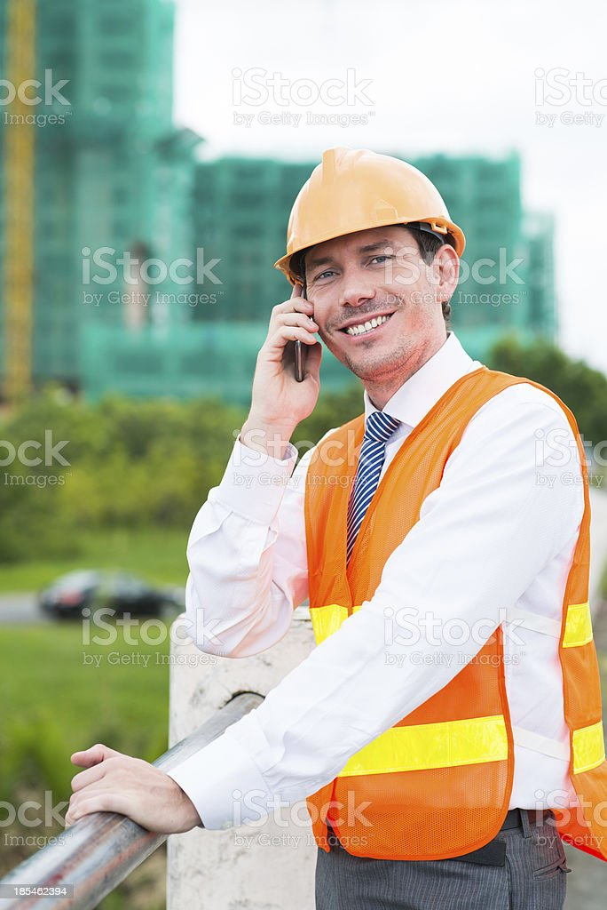 Communication by the phone royalty-free stock photo