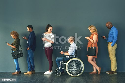 istock Communication comes in many forms 860895344