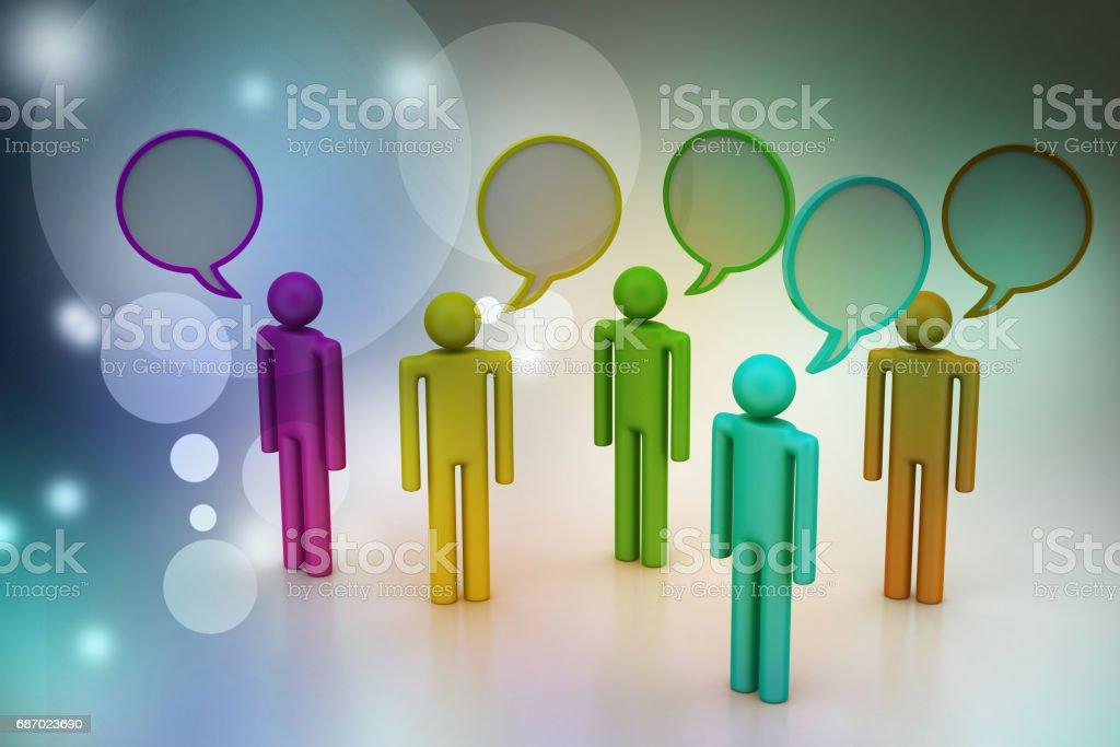 Kommunikation Konzept  Lizenzfreies stock-foto