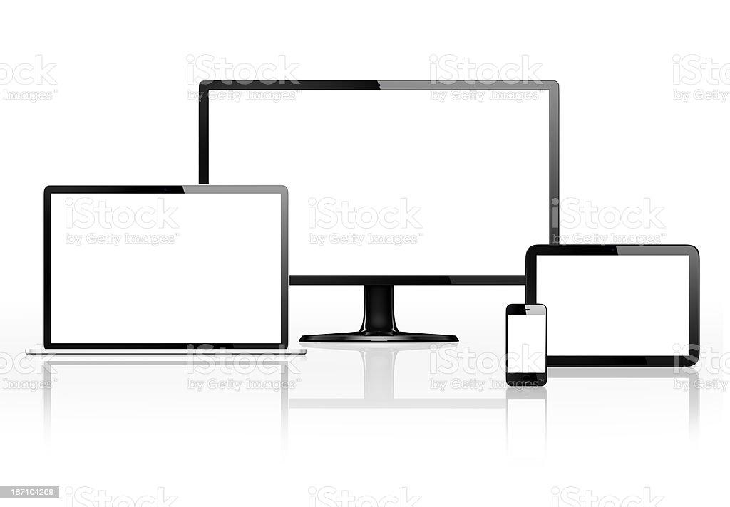 Communication Devices stock photo