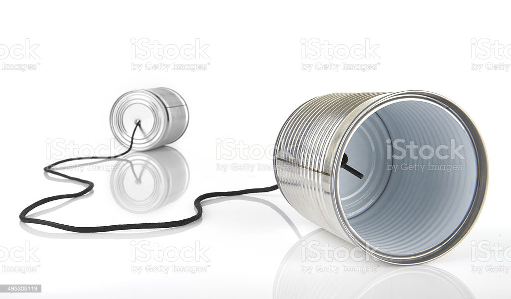 I Communication from new technology stock photo
