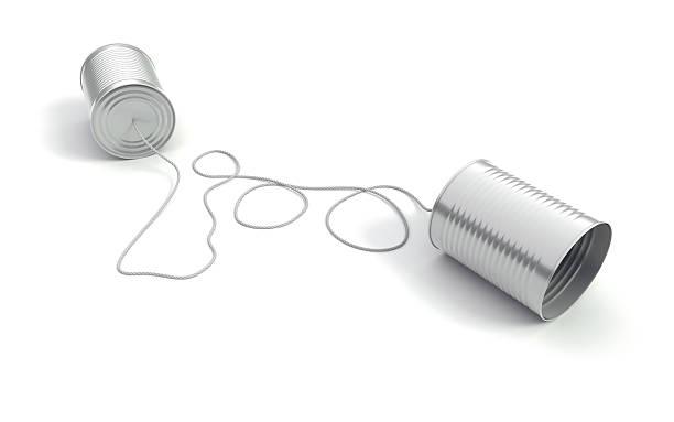 Communication II stock photo