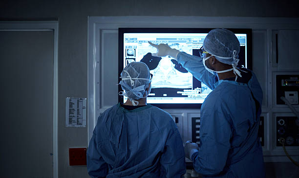 Communication is critical for a successful surgery stock photo