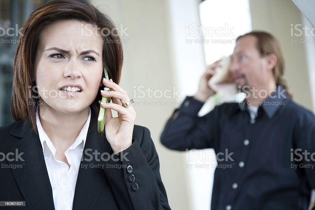 Communication Issues royalty-free stock photo