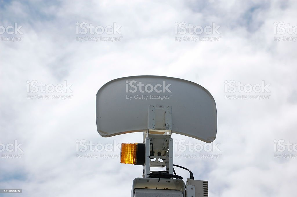 Communication Media Dish stock photo
