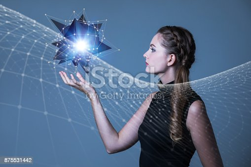 872677426 istock photo Communication network concept. 3D rendering. 875531442