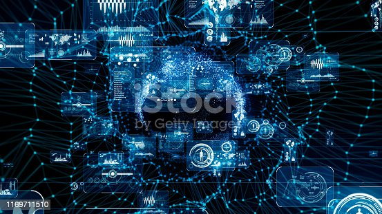 1169711469istockphoto Communication network concept. Graphical User Interface. 1169711510