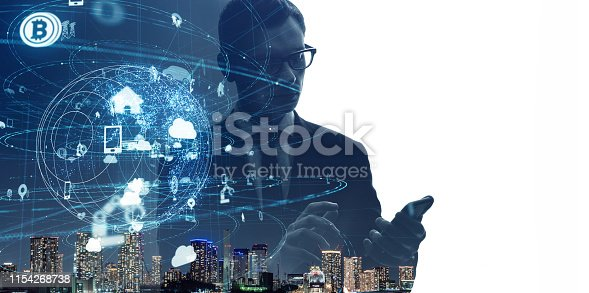 474953508 istock photo Communication network concept. IoT (Internet of Things) 1154268738