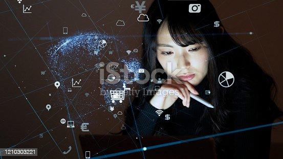 477843023 istock photo Communication network concept. IoT (Internet of Things). Telecommunication. 1210303221