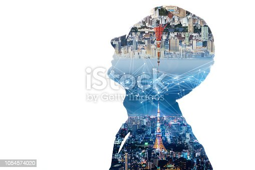 1054574034istockphoto Communication network concept. 1054574020