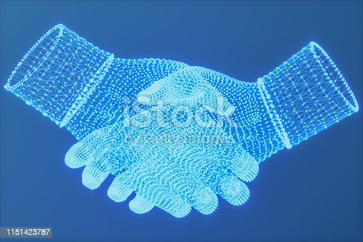 istock Communication network concept 1151423787