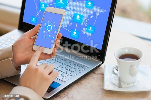 istock Communication network concept 915291648