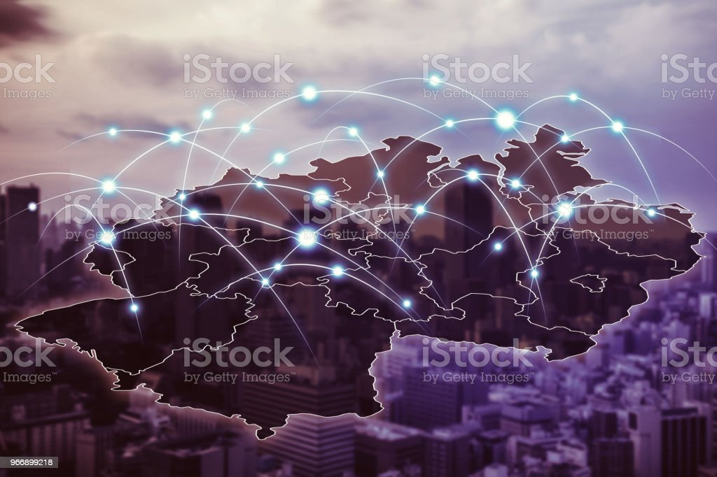 Kommunikationsnetz Deutschlands. – Foto