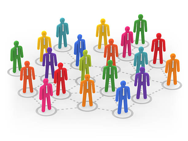 Communication Network stock photo