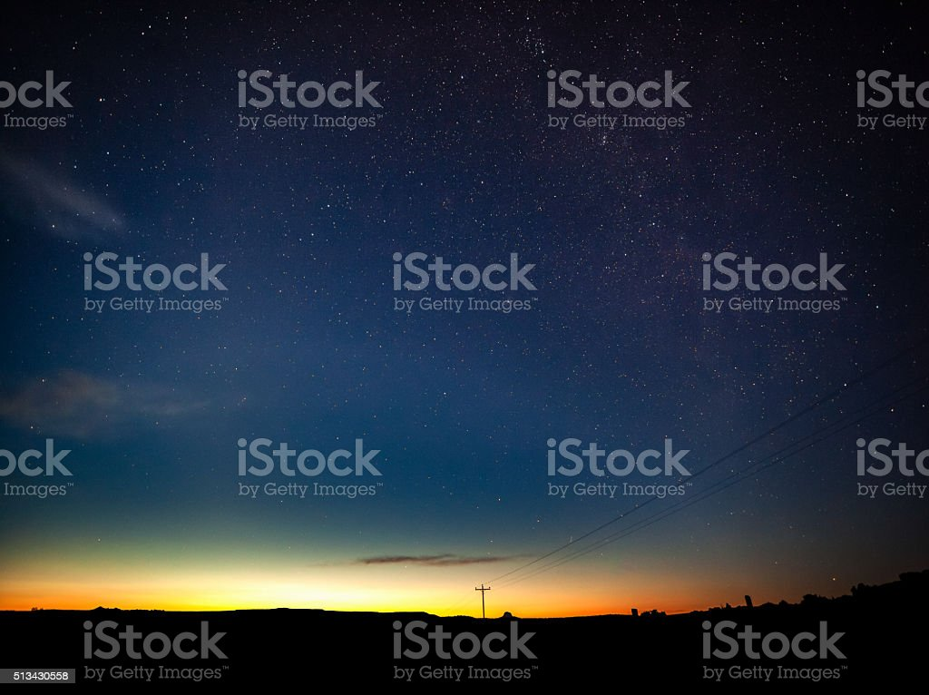communication night sky simple abstract stock photo