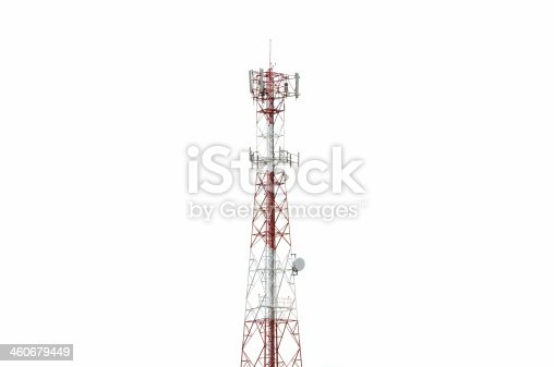 istock Communication Pole Signal Phone 460679449