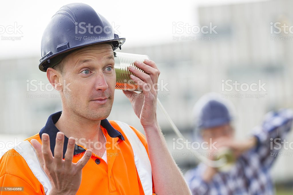 Communication problems stock photo