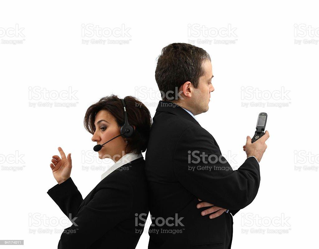 Communication Team  Adult Stock Photo