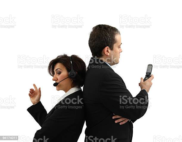 Communication Team Stock Photo - Download Image Now