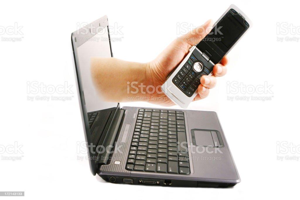 Communication Technology royalty-free stock photo