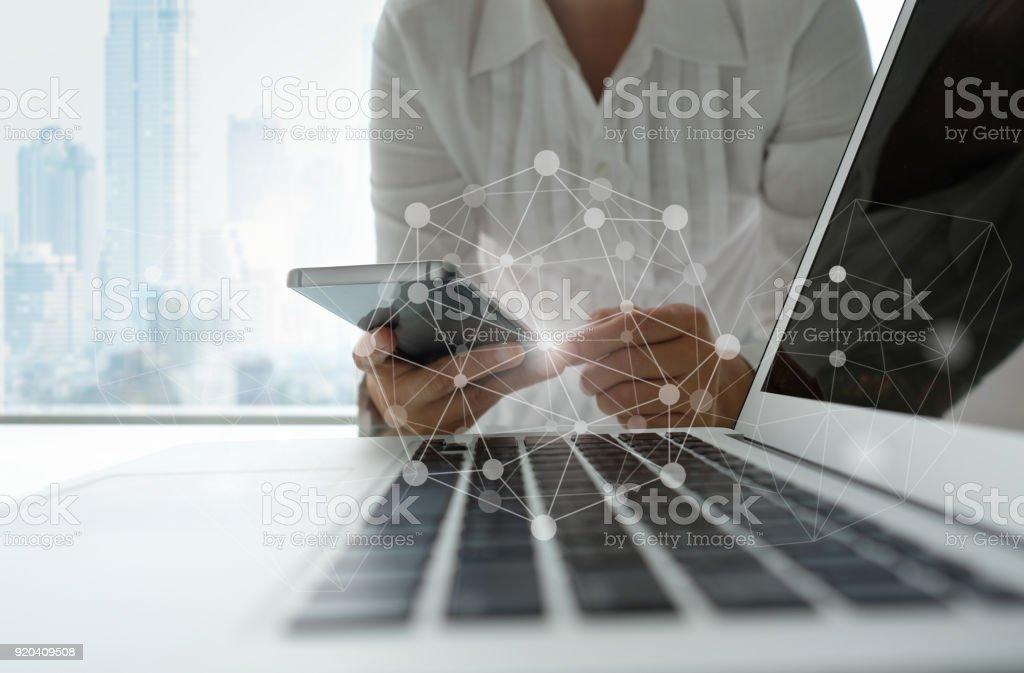 communication technology stock photo