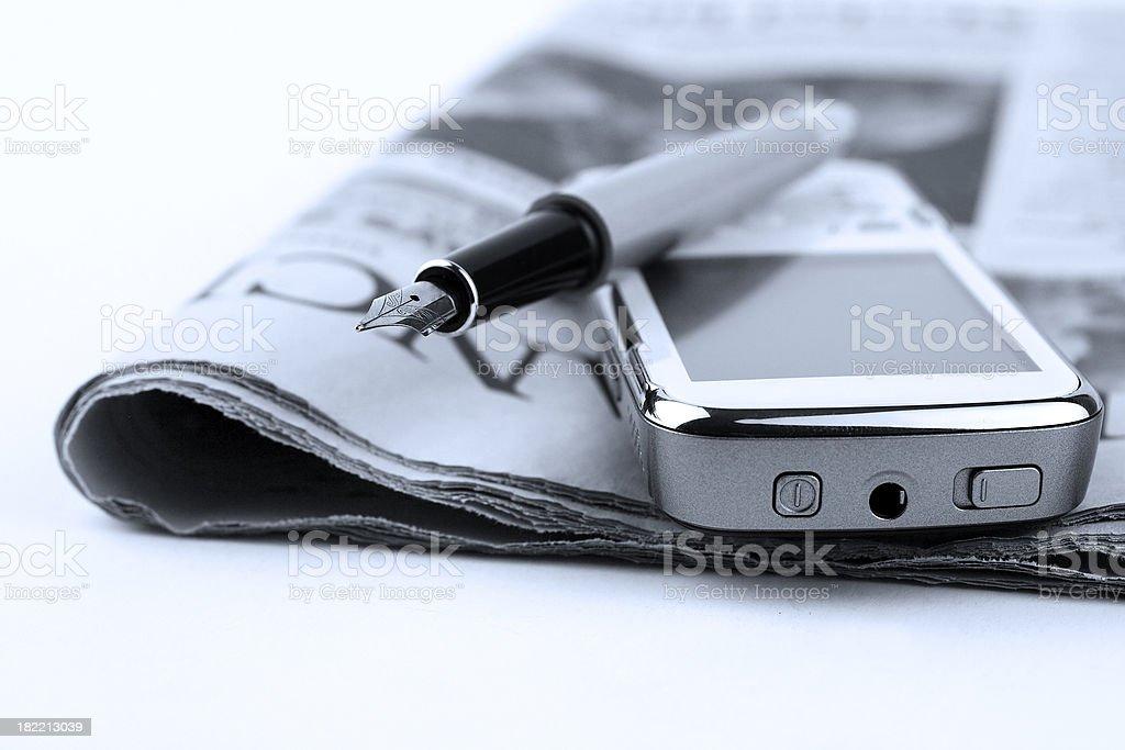 Communication tools royalty-free stock photo