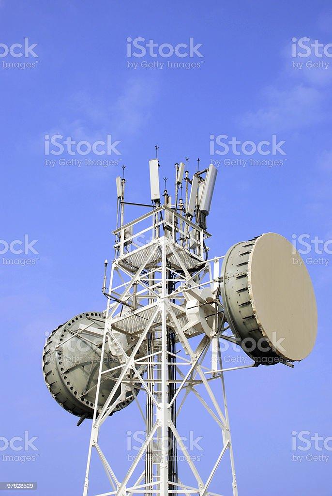 Communication Tower 3 royalty-free stock photo