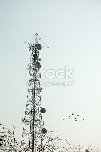 istock Communication Tower 875677868