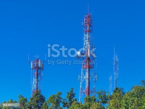 istock Communication Towers 900865422