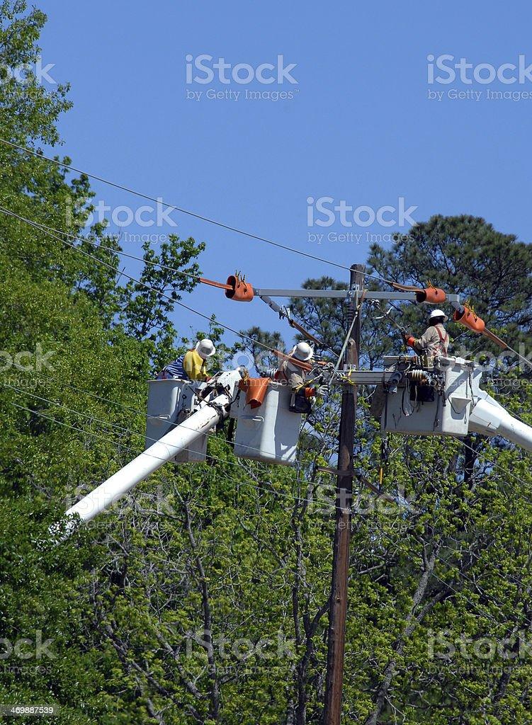 Communication Work stock photo