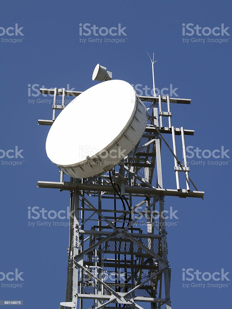 Communications Aerial stock photo