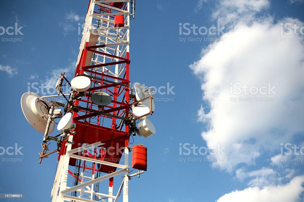 Communications Tower I royalty-free stock photo