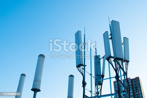 5G communications tower