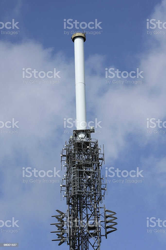 Communications Tower royalty free stockfoto