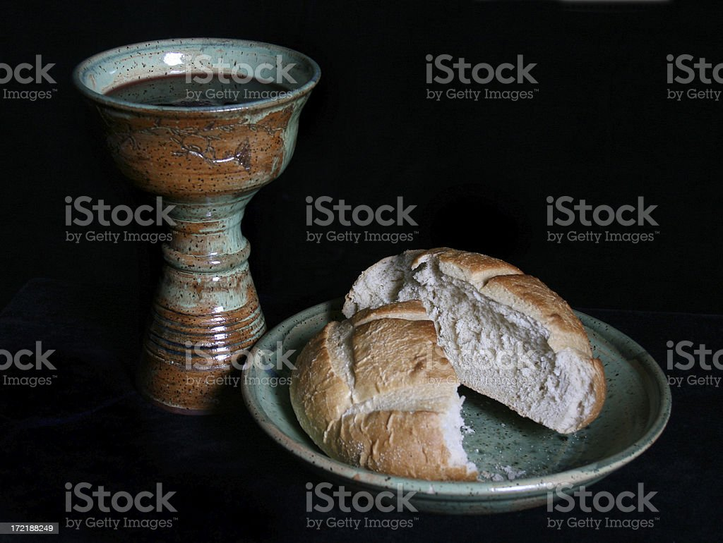 Communion 3 stock photo