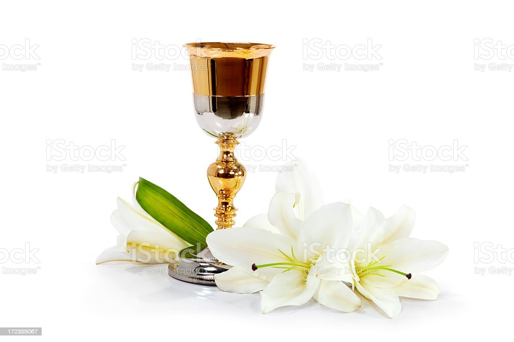 Communion chalice royalty-free stock photo