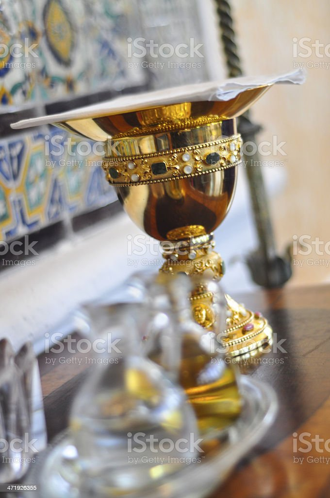 Communion Chalice stock photo