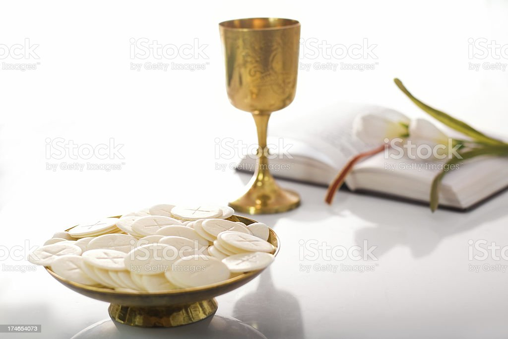 Communion Composition royalty-free stock photo