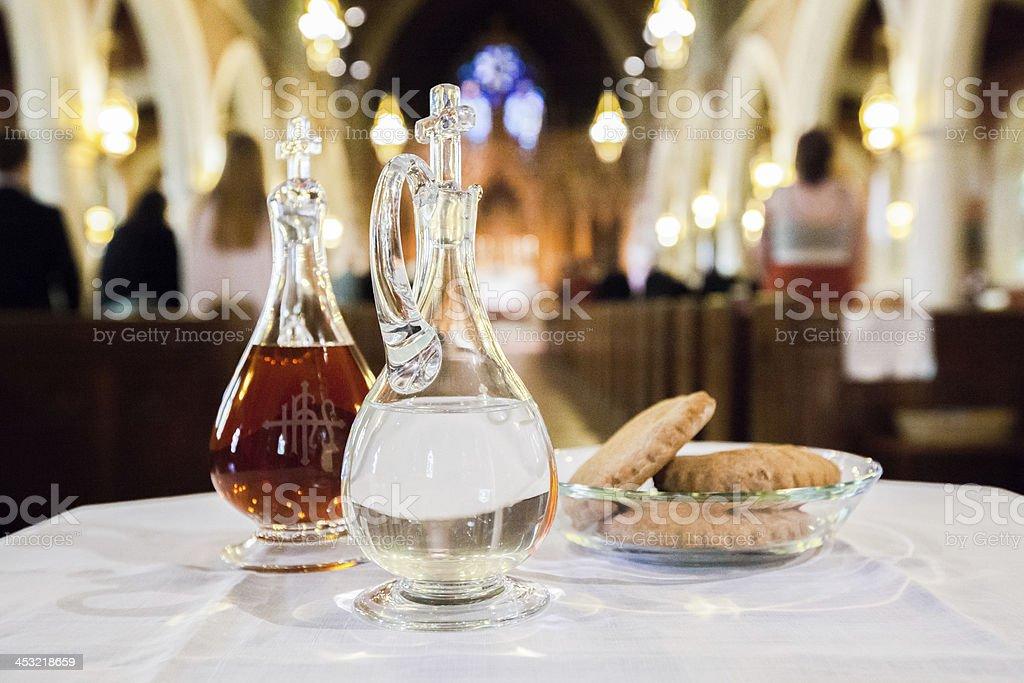 Communion stock photo