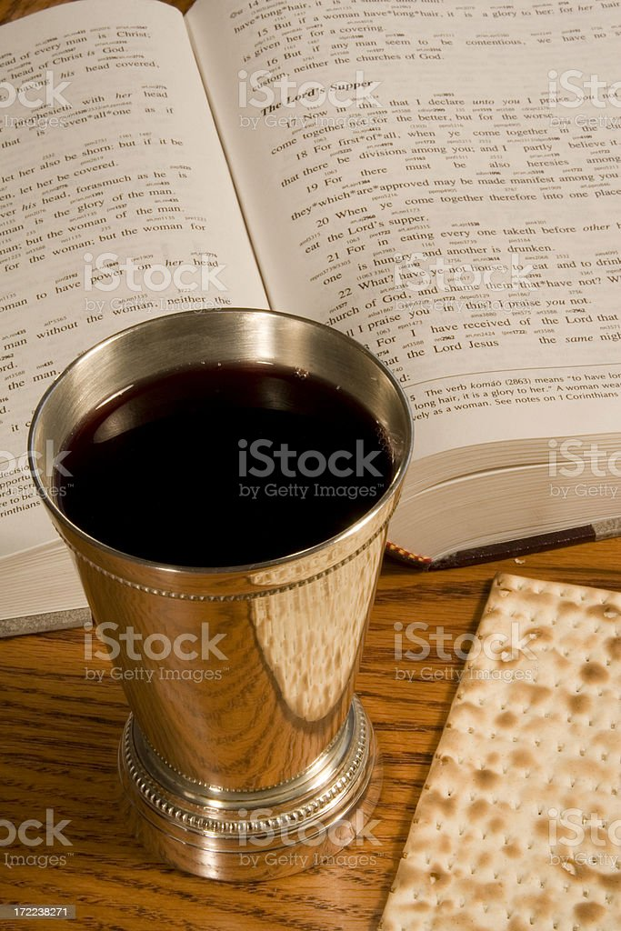 Communion service-1 royalty-free stock photo