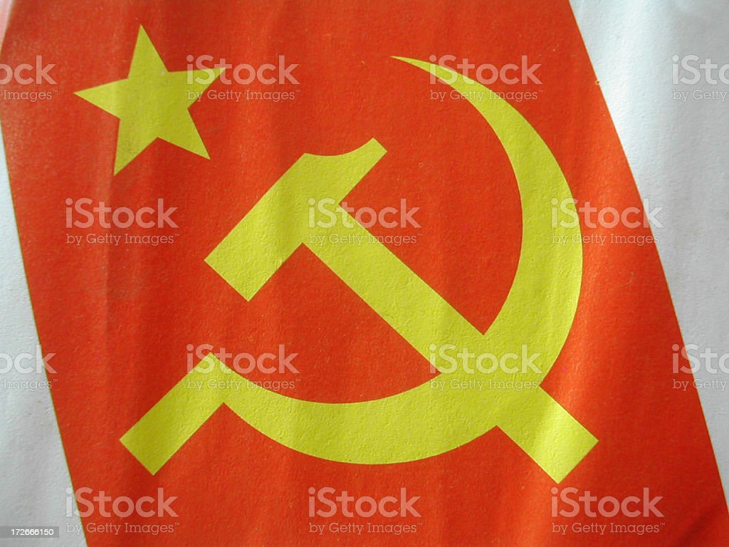 communist symbol royalty-free stock photo