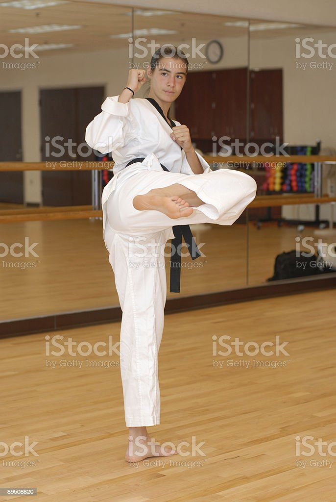 Community center tae kwon do stock photo