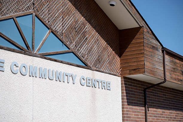 community centre at the community centre community center stock pictures, royalty-free photos & images