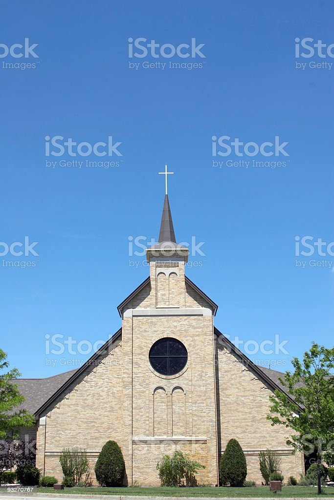 Community Church #1 stock photo