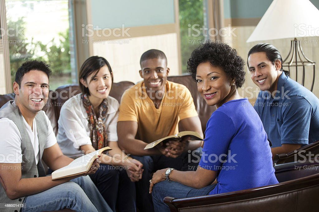 Community Group stock photo