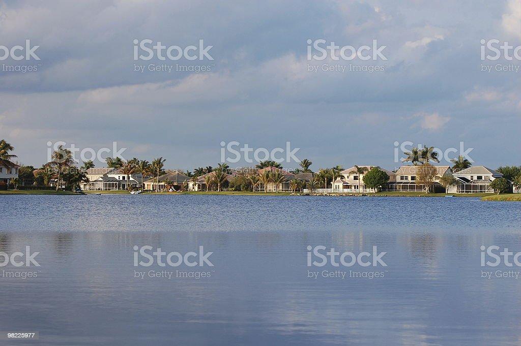 Community Lake royalty-free stock photo