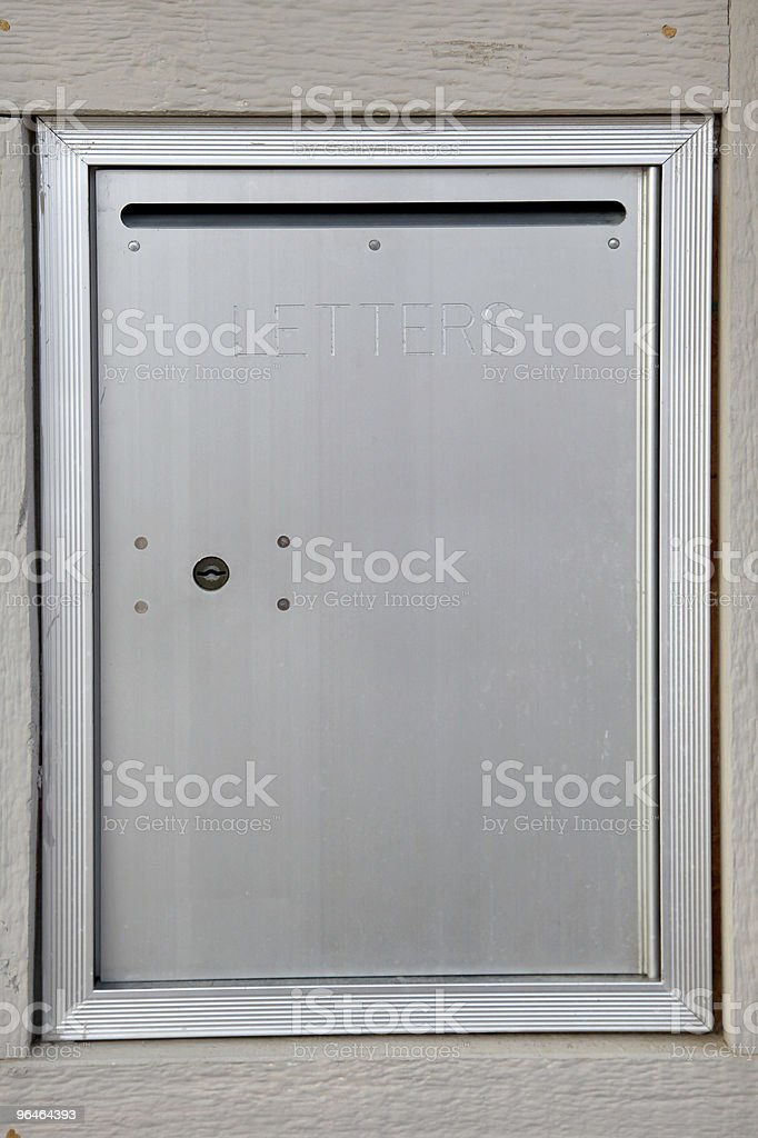 Community Letter Box royalty-free stock photo